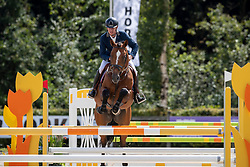 Bles Bart, NED, Jumper Verdi<br /> KWPN Paardendagen - Ermelo 2019<br /> © Hippo Foto - Dirk Caremans<br /> Bles Bart, NED, Jumper Verdi