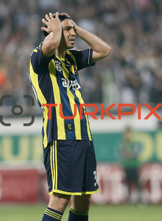 Fenerbahce's Mehmet Topuz during their Turkish Superleague SuperFinal Derby match Besiktas between Fenerbahce at the Inonu Stadium at Dolmabahce in Istanbul Turkey on Thursday, 03 May 2012. Photo by TURKPIX