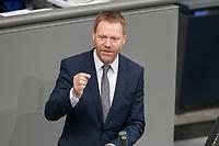 08 NOV 2018, BERLIN/GERMANY:<br /> Christoph Matschie, MdB, SPD, Bundestagsdebatte zum sog. Global Compact fuer Migration, Plenum, Deutscher Bundestag<br /> IMAGE: 20181108-01-037<br /> KEYWORDS: Sitzung