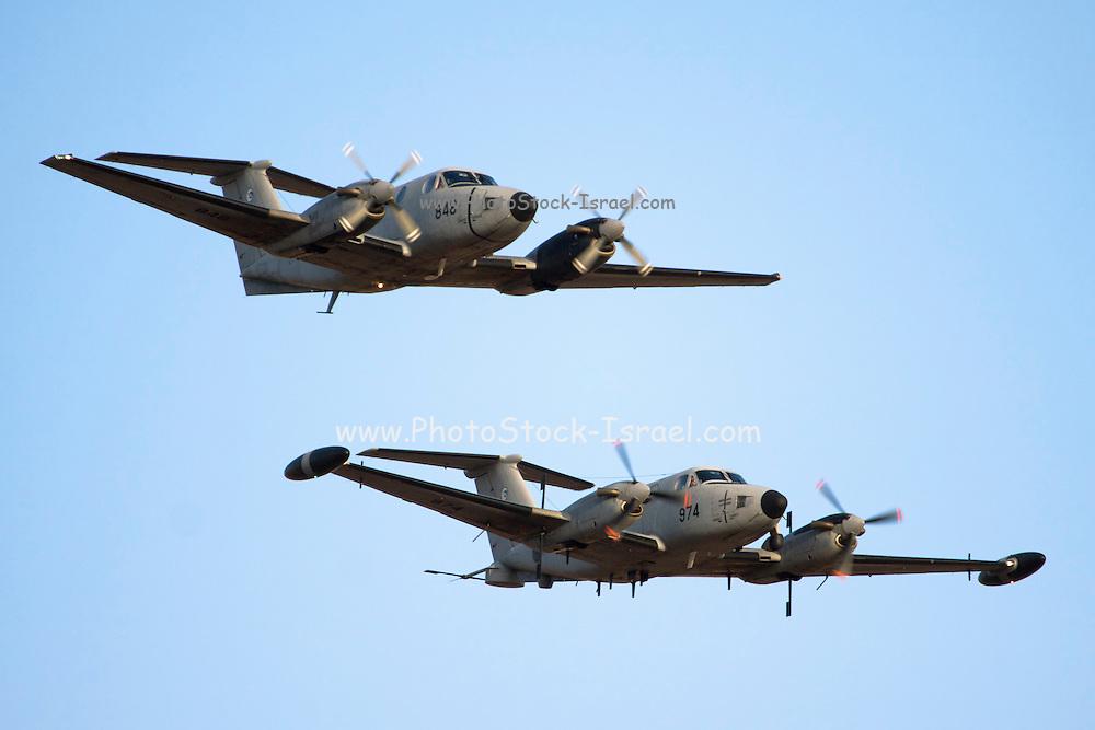 Two Israeli Air Force (IAF) Beechcraft King Air