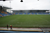 Photo: Lee Earle.<br /> Portsmouth v Arsenal. The Barclays Premiership. 25/03/2006. The Portsmouth pitch, moments after the game had been called off.