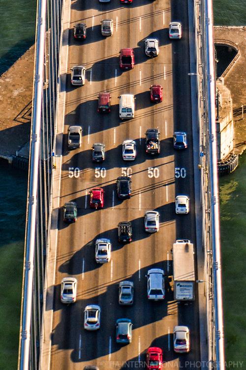 Bay Bridge Traffic Lanes