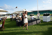 Tasha de Vasconcelos, Cartier International Polo. Smiths Lawn. Windsor. 24 July 2011. <br /> <br />  , -DO NOT ARCHIVE-© Copyright Photograph by Dafydd Jones. 248 Clapham Rd. London SW9 0PZ. Tel 0207 820 0771. www.dafjones.com.