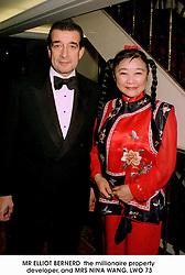 MR ELLIOT BERNERD  the millionaire property developer, and MRS NINA WANG.LWO 73