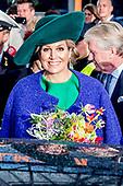 Koningin Maxima opent de Bio-beurs in de IJsselhallen