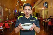 Moe Soeum, Owner of Moe Pho Restaurant iin Pendleton, Oregon