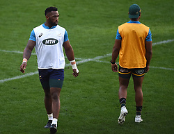 Cape Town-180618 Springbok captain Siya Kolisi  at training session at Cape Town Stadium ahead of their game against England on saturday .photograph:Phando Jikelo/African News Agency/ANA