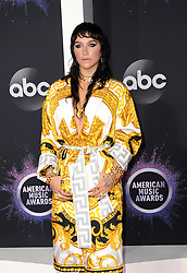Kesha at the 2019 American Music Awards held at the Microsoft Theater in Los Angeles, USA on November 24, 2019.