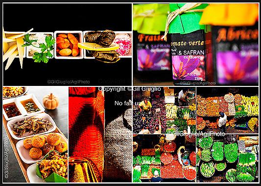 Portfolio X4 colorful country market over the world (France, Maurice island, Myanmar, Thailand) // Portfolio x4, marché paysans à travers le monde (France, Île Maurice, Myanamr, Thaïlande)