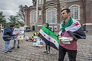 Hongerstakende Syriers
