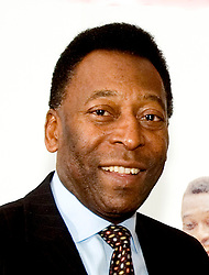 Soccer Legend Pelé during his visit to Sheffield United Football club during celebrations of the 150th Anniversary of Sheffield Club FC the old football club in the world<br /> 8 November 2007<br /> Image COPYRIGHT Paul David Drabble