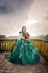 Gothic Style Wedding at Eynsham Hall, Witney, Oxfordshire