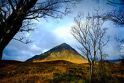 Buachaille Etive Mor - a well known and well loved Munro at the head of Glen Etive on Rannoch Moor, Highlands of Scotland<br /> <br /> (c) Andrew Wilson | Edinburgh Elite media