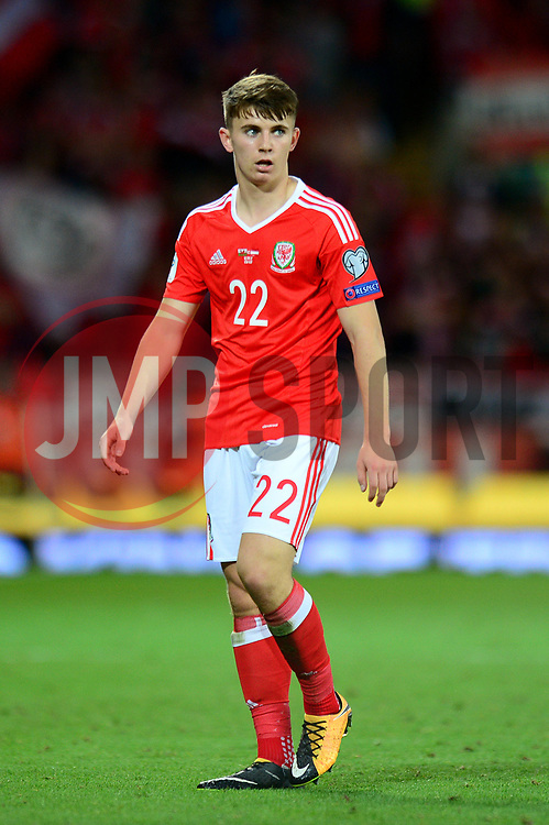 Ben Woodburn of Wales - Mandatory by-line: Dougie Allward/JMP - 02/09/2017 - FOOTBALL - Cardiff City Stadium - Cardiff, Wales - Wales v Austria - FIFA World Cup Qualifier 2018