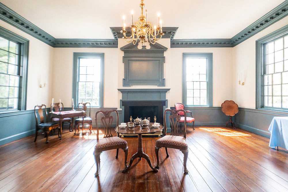 Guided tour of the Burgwin-Wright House and Gardens in Wilmington, North Carolina on Wednesday, August 11, 2021. Copyright 2021 Jason Barnette