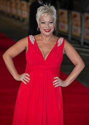 Denise Welch arrives for the Run For Your Wife - UK film premiere Odeon -Leicester Sq- London Brit comedy about a happily married man - with two wives, Tuesday  February 5, 2013. Photo: Andrew Parsons / i-Images