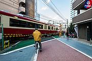 """Tokyo, Shinagawa - Tokaido littéralement « la route de la mer de l'est """" est une ancienne route reliant Tokyo à l'ouest, vers les ville Kyoto, Osaka, kobe. La route du tokaido est une petite route qui longe la route principale actuelle."""