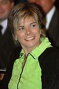 Prinses Laurentien woont in het Raadhuis in Hilversum de uitreiking van de Nationale Alfabetiseringsprijzen bij. Aansluitend houdt de Prinses een toespraak over laaggeletterdheid in de openbare bibliotheek in Hilversum. Daarna wordt de tentoonstelling Taal Centraal geopend.<br /> <br />  Op de foto: Princes Laurentien komt aan bij het stadhuis van hilversum