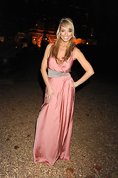 Singer Liz McClarnon at the End of Summer Ball in support of The Prince's Trust in Berkeley Square, London on 25th September 2008.