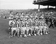 07/09/1969<br /> 09/07/1969<br /> 7 September 1969<br /> All-Ireland Senior Hurling Final: Kilkenny v Cork at Croke Park, Dublin.  <br /> The Kilkenny senior hurling team who won the match.