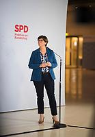 DEU, Deutschland, Germany, Berlin, 08.01.2021: Deutscher Bundestag, Pressestatement zur digitalen Jahresauftaktklausur der SPD-Bundestagsfraktion mit SPD-Chefin Saskia Esken.