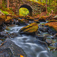 Scenic New England fall foliage fine art photography of the Keystone Bridge and Swift River at Quabbin Reservoir, Massachusetts. This New England cobble stone bridge beautifully spans the Swift River Middle Branch LR . <br /> <br /> Keystone Bridge and Swift River Massachusetts fall foliage photography images are available as museum quality photo, canvas, acrylic, wood or metal prints. Wall art prints may be framed and matted to the individual liking and interior design decoration needs:<br /> <br /> https://juergen-roth.pixels.com/featured/quabbin-reservoir-keystone-bridge-and-swift-river-middle-branch-juergen-roth.html<br /> <br /> Good light and happy photo making!<br /> <br /> My best,<br /> <br /> Juergen