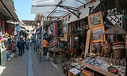 The Flea Market in the alleys of Jaffa, Tel Aviv, Israel