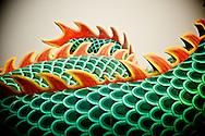 A dragon's back in Kaohsuing, Taiwan.