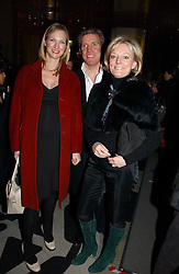 """Left to right, DARCEY VIGORS, GARY WILLCOX and JO MALONE attend opening night of """"Kylie - The Exhibition"""" at Victoria & Albert Museum February 6, 2007 in London.<br /><br />NON EXCLUSIVE - WORLD RIGHTS"""