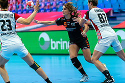 Larissa Nusser of Netherlands in action during the Women's EHF Euro 2020 match between Netherlands and Hungry at Sydbank Arena on december 08, 2020 in Kolding, Denmark (Photo by RHF Agency/Ronald Hoogendoorn)