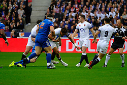 March 10, 2018 - Saint Denis, Seine Saint Denis, France - The Fullback of English team ANTHONY WATSON in action during the NatWest Six Nations Rugby tournament between France and England at the Stade de France - St Denis - France..France won 22-16 (Credit Image: © Pierre Stevenin via ZUMA Wire)