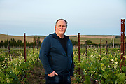 Portrait of Mike Martin owner of The Walls winery in The Rocks AVA.
