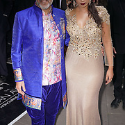 London,England,UK : 8th April 2016 : Shav,Sunny attend the The Asian Awards 2016 at Grosvenor House Hotel, Park Lane, London. Photo by See Li