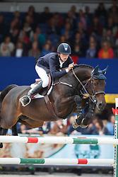 Allen Bertram (IRL) - Izzy By Picobello<br /> Final 6 years<br /> FEI World Breeding Jumping Championships for Young Horses - Lanaken 2014<br /> © Dirk Caremans