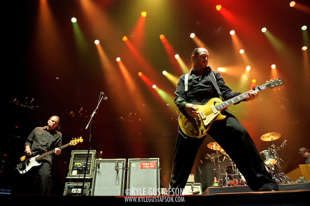 WASHINGTON, DC - November 11th, 2011 - Southern Californian punk pioneers Social Distortion open for the Foo Fighters at the Verizon center in Washington, D.C.   (Photo by Kyle Gustafson/For The Washington Post)