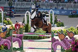Alvarez Aznar Eduardo, ESP, Rokfeller de Pleville Bois Margot<br /> World Equestrian Games - Tryon 2018<br /> © Dirk Caremans<br /> 20/09/2018
