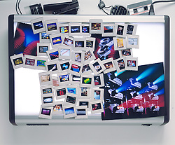 photography photographic light box viewer multi media slide show transparencies