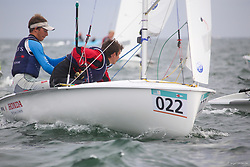 , Travemünde - 420er WM 25.07. - 03.08.2014, 420er, CAN 53960, Christopher Jakob MEGAFFIN, John Alexander SAPP, Royal Nova Scotia Yacht Squadron
