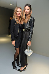 Left to right, sisters JESSICA SIMON and ZARA SIMON at the Louis Vuitton Series 3 VIP Launch held at 180 Strand, London on 20th September 2015.