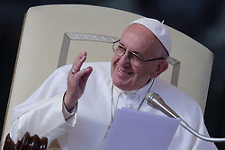 November 21,  2018  - Vatican City (Holy See)  POPE FRANCIS during his Wednesday General Audience in St. Peter's Square at the Vatican  (Credit Image: © Evandro Inetti/ZUMA Wire)