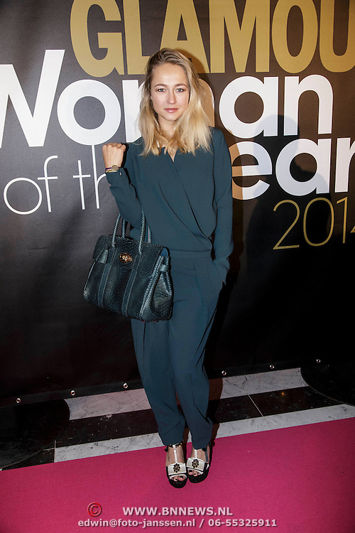 NLD/Amsterdam/20141215- Glamour Woman of the Year 2014, Caroline Spoor