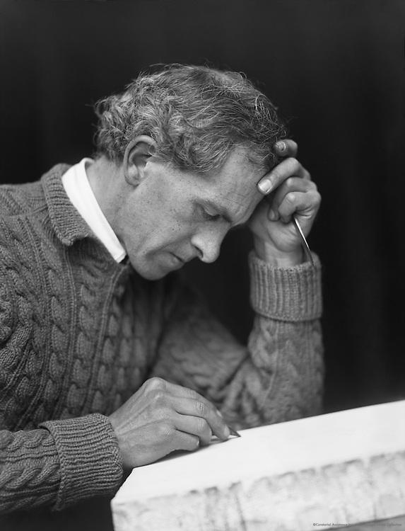 John Copley, printmaker and painter, England, 1917