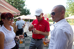 Dejan Kontrec at Anze's Eleven and Triglav Charity Golf Tournament, on June 30, 2012 in Golf court Bled, Slovenia. (Photo by Matic Klansek Velej / Sportida)