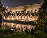 The great butcher's hall in Ghent, Belgium, 30 okt 2014