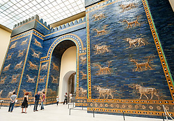 Ishtar Gate in Pergamon Museum, Museum Island, Berlin, Germany