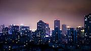 Night in Pudong, Shanghai, China