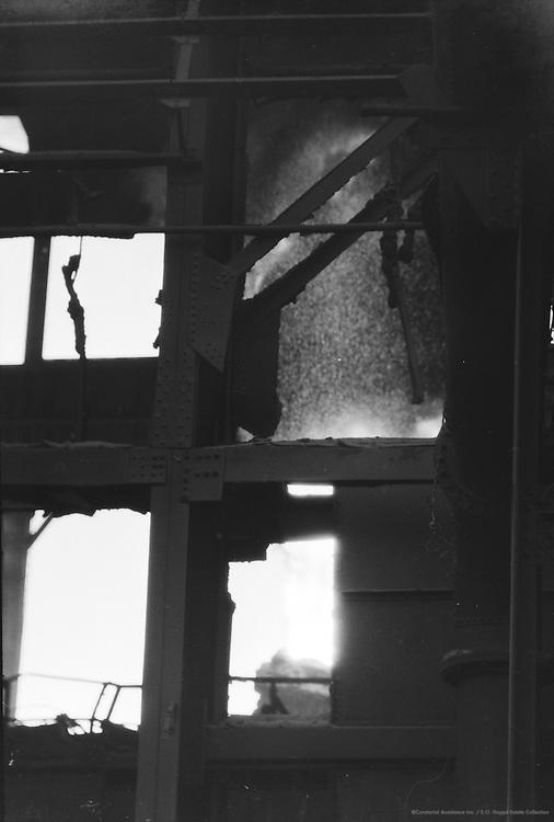 Bessemer Condenser Blowing, Tata Iron & Steel Works, Jamshedpur, India, 1929
