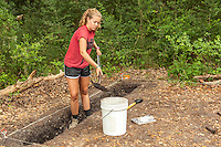 Archaeology dig done by University of Tennessee students at Cannon's Pt. on St. Simons Island, GA.  Site of the Couper House and Plantation.
