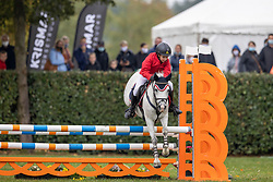 Sels Milan, BEL, Ronaldo van de Nieuwe Heide<br /> Nationaal Kampioenschap LRV Ponies <br /> Lummen 2020<br /> © Hippo Foto - Dirk Caremans<br /> 27/09/2020