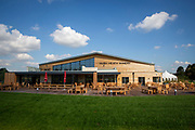 'The View' recently renovated building with wine tasting room at Hush Health Winery, Staplehurst, Kent, England, UK. (photo by Andrew Aitchison / In pictures via Getty Images)